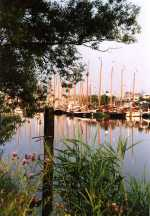 Sfeer 1995 in Lemsterbuiten haven